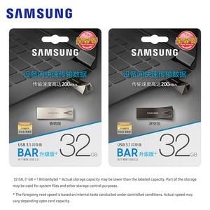 Image 5 - SAMSUNG clé Flash BAR Plus, USB 256 go, 64 go, 128 go, 32 go, clé USB 3.1, Mini stylo en métal compatible USB, clé mémoire