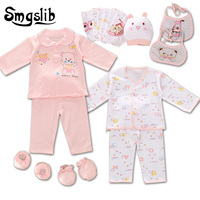 18 Pcs Lot Newborn Baby Girl Clothes Cotton Cartoon Infant Clothing Baby Boy Baby Gift Set