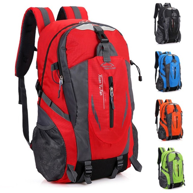 OUTAD Sport Climbing Camping Biking Hiking Bag Mountaineering Day Pack  Lightweight Travel Backpack Waterproof Outdoor Rucksack 4b0233d23841c