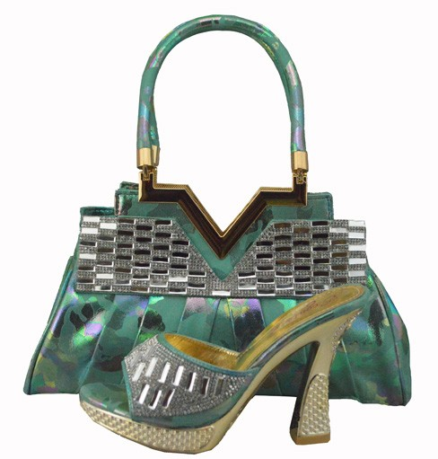 ФОТО African Shoe And Bag Set For Party Italian Shoe With Matching Bag New Design Ladies Matching Shoe And Bag Italy 1308-38