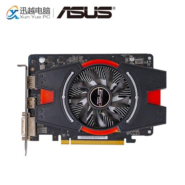 ASUS HD7750-1GD5-V2 Original Graphics Cards 128 Bit HD 7750 1G GDDR5 Video Card DVI HDMI DP For AMD Radeon HD7750