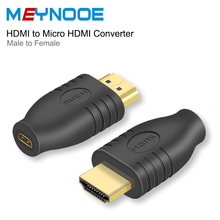 HDMI Male Type A to Micro HDMI Female Extension Adapeter HDMI Switch 4K HDMI Extender Coupler Connector Digital Audio Converter