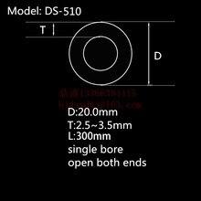 99.5% al2o3 высокое Термальность корунд трубки od20* id15mm/Круглый один-диаметр трубки глинозема/Изоляционные Керамики для термопары Датчики