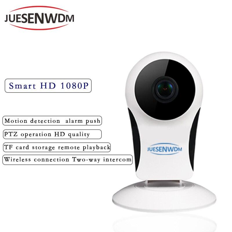 JUESENWDM Home Security IP Camera Baby Monitor Wi-Fi Wireless Mini Network Camera CCTV Camera Surveillance 960P Night Vision
