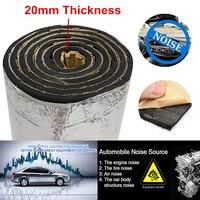 Silber Auto Schallschutz Schaum Matte Dämpfung Ungiftig Proofing Isolierung Wraps-in Geräusch- & Wärmedämmende Baumwolle aus Kraftfahrzeuge und Motorräder bei