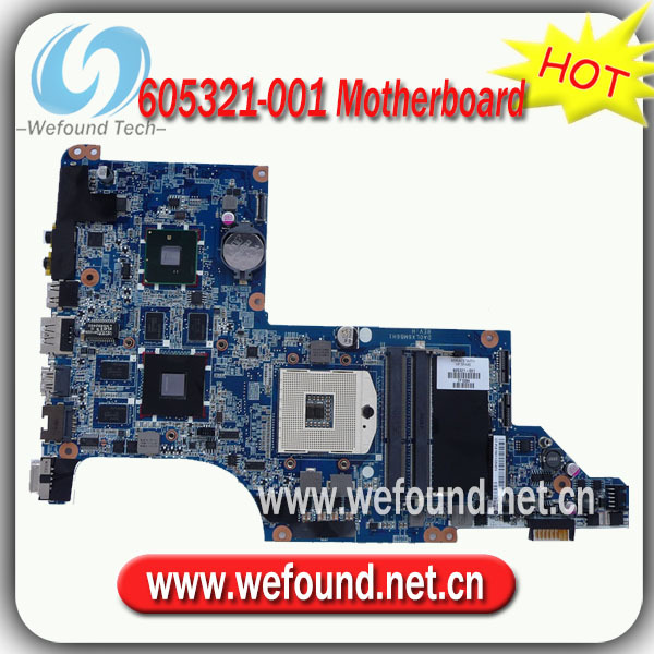 605321-001,Laptop Motherboard for HP DV7-4000 Series Mainboard,System Board