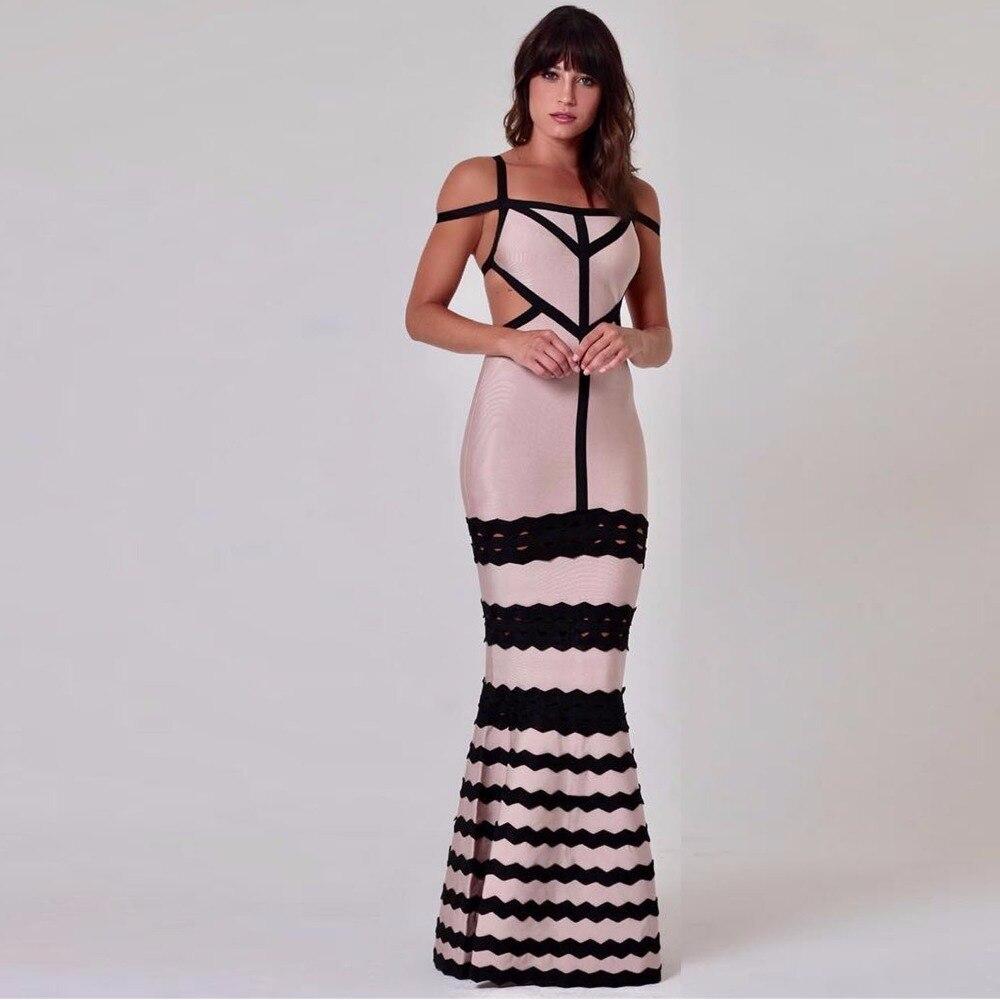 D'été En Gros Arriva Soirée Mode Dos Kaki Longueur Femmes Robe Nu parole De Cou Slash 2018 Nouveau Nu C00 agqHSZ1X