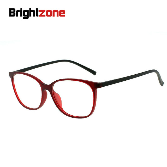 47fd1e4db3 Brightzone TR90 Red Butterfly Anti-Fatigue UV Blocking Blue Light Filter  Stop Eye Strain Prescription Glasses Optical Frame
