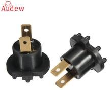 2Pcs  Headlight Socket Bulb Holder  Light Bulb Base For Mazda 3 5 323/Kawasaki /Aprilia B28V510A3