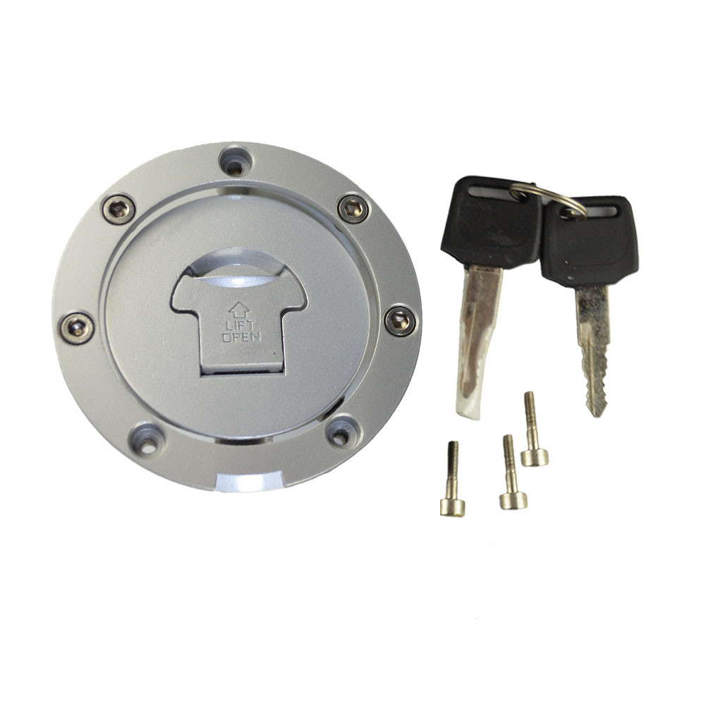 Motorcycle Fuel Gas Tank Cap Cover Lock + 2pcs Keys For Honda VFR 750 800 , Not Includ Ignition Seat Handle Locks