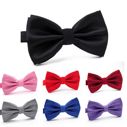 18 színes új divat hivatalos pamut felnőtt klasszikus bowties pillangó esküvői party pet Bowtie szmoking nyakkendők szilárd fiúk csokornyakkendő