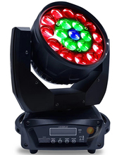 19x12w 4in1 Led Ring Control Wash Beam Zoom Moving Head Light for DJ Stage Party Event Show Fixture Effect Wedding Lighting стоимость