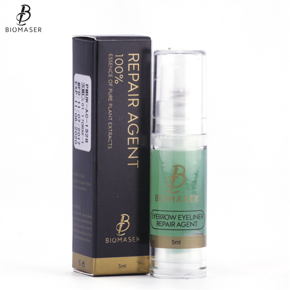 US $7 48 31% OFF|Biomaser Permanent Makeup Eyebrow/Eyeliner Repair Agent  Tattoo Aftercare Cream 5ml For Tattoo Permanent Makeup Tattoo Supplies-in