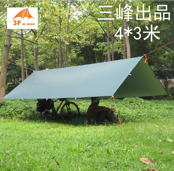3F ul ultrasorbant plajă cortină plajă de camping cort 4 * 3m - Camping și drumeții