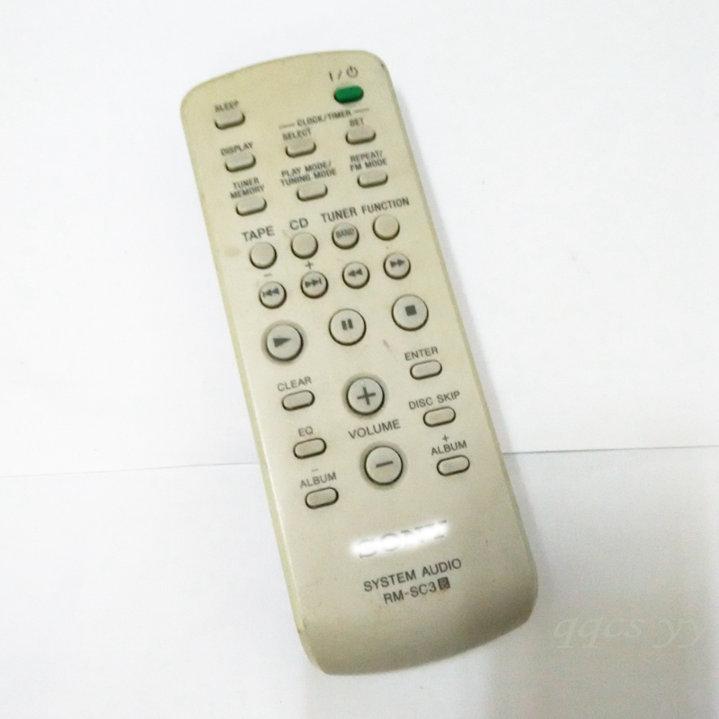 Used Remote Control Rm Sc3 For Sony Cmt Cpz2 Eh10 Nez3 Rhaliexpress: Sony System Audio Rm Sc3 At Elf-jo.com