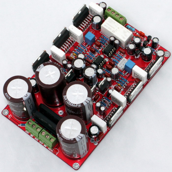 board Using original TDA7293 and NE5532 TDA7293 parallel two-channel amplifier board (250W* 2),Rectification, speaker protection цена 2017