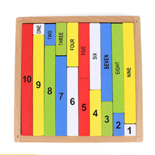 Montessori Early Childhood Colors Bars Kindergarten Early Learning Montessori Mathematics Teaching Assistant