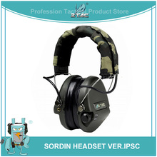 Z-tactical Zsordin Headset VER.IPSC Tactical Headphones Airsoft acessorios Z037 hot sell