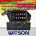 WITSON Android 5.1 Quad Core АВТОМОБИЛЬНЫЙ DVD для MERCEDES-BENZ GLK GLK X204 GLK 300 GLK 350 + 1024X600 ЭКРАН + DVR/WI-FI/3 Г + DSP + RDS + 16 ГБ