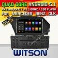 WITSON Android 5.1 Quad Core de DVD DO CARRO para MERCEDES-BENZ GLK X204 GLK GLK 300 GLK 350 + 1024X600 TELA + DVR/WIFI/3G + DSP + RDS + 16 GB