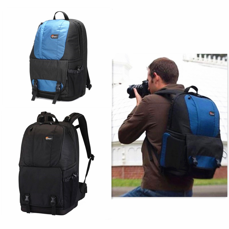 Free Shipping High quality Fastpack 250  F350 Photo DSLR Camera Bag Digital SLR Backpack laptop with All Weather Cover