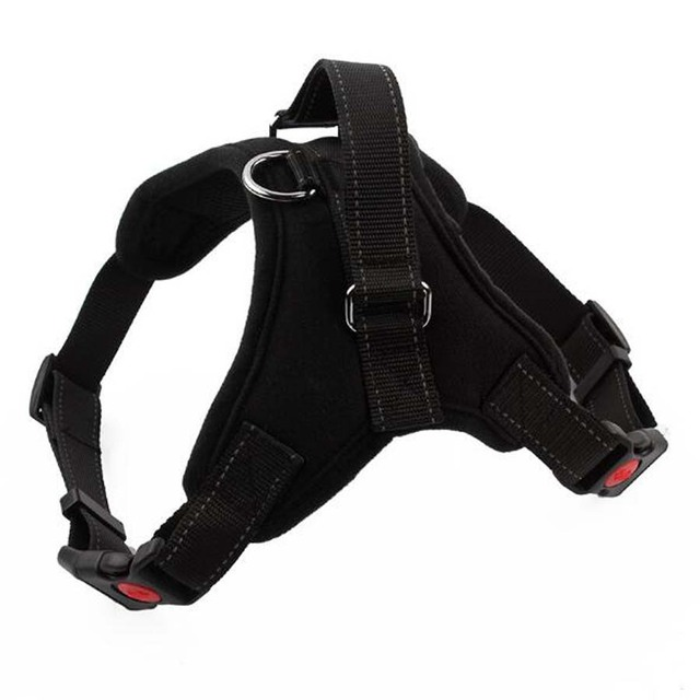 XS-XL Adjustable Reflective Nylon Pet Dog Harness Pet Vest Harnesses for Puppy Large Pet Walking Vest Husky Teddy Pet Supplies