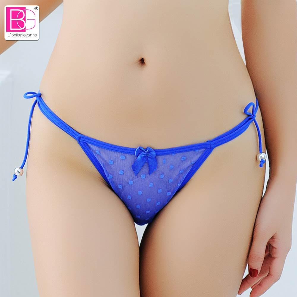 Lbellagiovanna Sexy Panties Women Bandage Underwear Thongs Female G String Girls Panty Briefs Mesh Intimo Bragas Xxs L