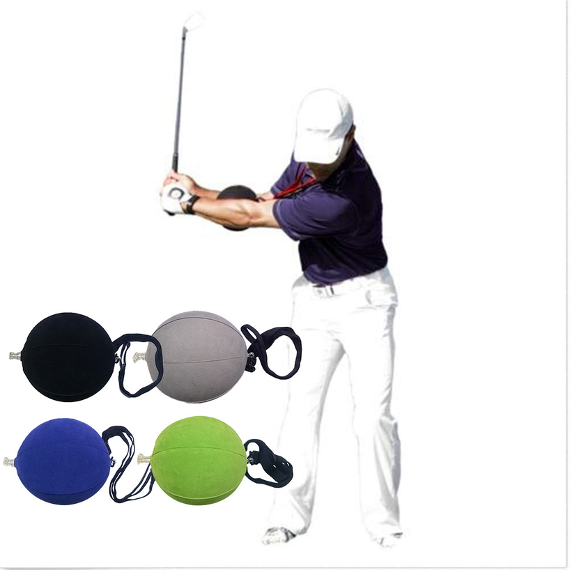 2019 New golf smart inflatable ball Golf Swing Trainer Aid Assist Posture Correction Training Supplies   golf accessories-in Golf Training Aids from Sports & Entertainment