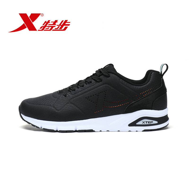 983319326181 Xtep Casual Breathable Lightwear Training Sport Travel Running Fitness Male Man Walking Shoes