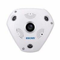 ESCAM Shark QP180 960 P IP VR Kamera WiFi Netzwerk Fisheye 1,44mm 360 Wi-Fi Kameras Überwachung CCTV Cam unterstützung VR BOX