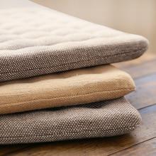 Японский стиль, подушка для сиденья, твердая подушка для стула, подушка для пола, утолщенная подушка