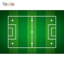 цена Yeele Football Field Soccer Children Birthday Party Personalized Photography Backdrops Photographic Backgrounds For Photo Studio онлайн в 2017 году