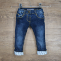 Infant Baby Boys&Girls Jeans New born Warm Jeans Kids Girls Love Pattern Rivet Denim Pants Newborn Bebe Trousers Spring Clothes