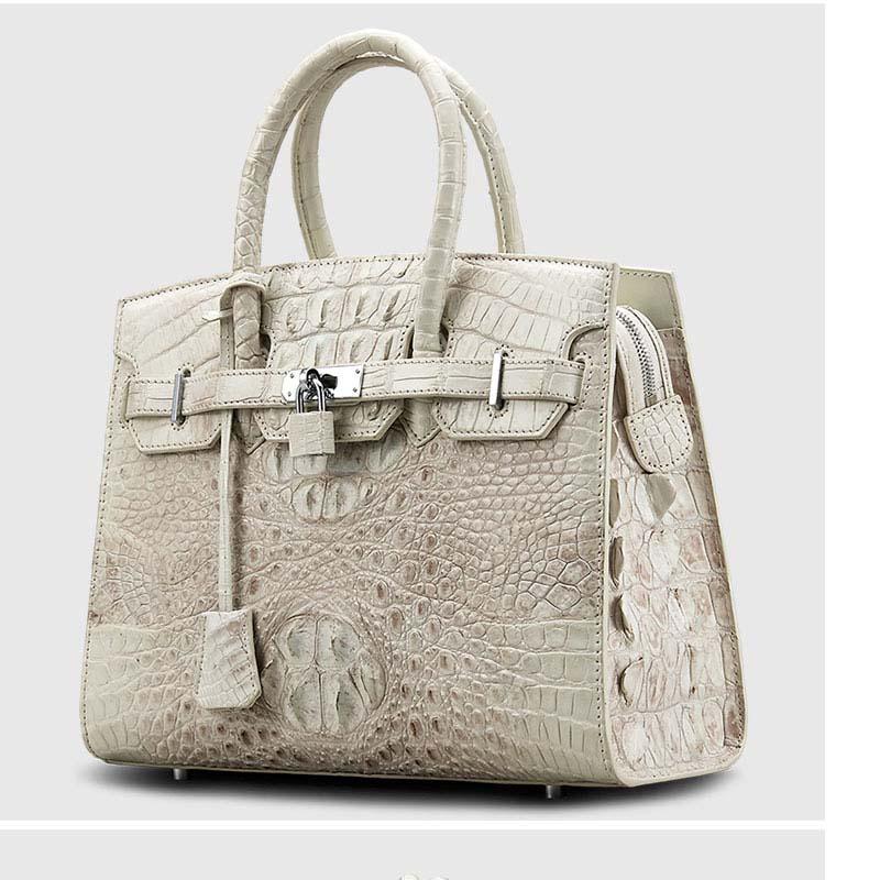 cestbeau 2019 Himalayan crocodile leather handbag with multiple layers for ladies platinum bag and bride bag