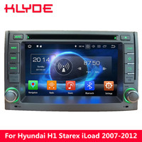 KLYDE 4G WI FI Octa Core Android 8,0 7,1 4G B Оперативная память DVD мультимедиа плеер gps навигации для hyundai H1 iLoad Starex 2007 2014