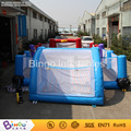 inflatable 3N1 football filed and basketball and badminton playground 12*6m Toy Sports
