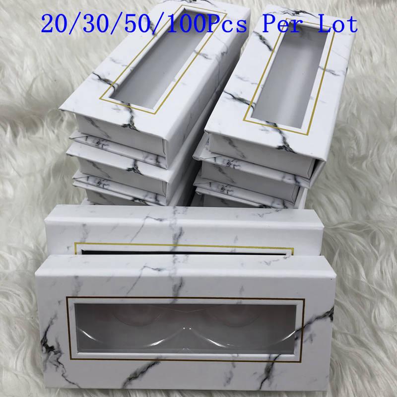 Mikiwi Wholesale Square False Eyelash Packaging Box Custom your Logo Fake 3d Mink eyelashes Boxes Cils lash strip Case Empty box