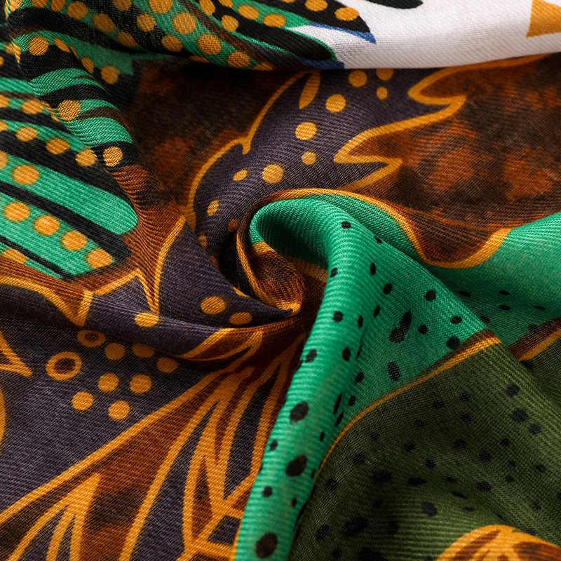 2018 spanien Luxus Afrikanische Ethnische Viskose Schal Damen Printe Schals und Wraps Muffler Stirnband Echarpe Foulard Moslemisches Hijab Caps