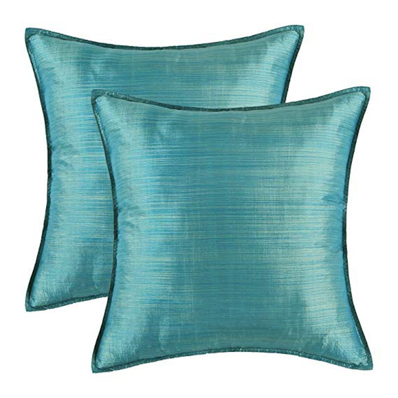 Sofa Pillows Contemporary: PEIYUAN Pack Of 2 Silky Throw Pillow Covers Cases For