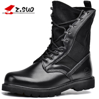 Z. Suo men 's boots, The Add fluff warm mens boots, black fabric surface bond boots man. botas zs988H