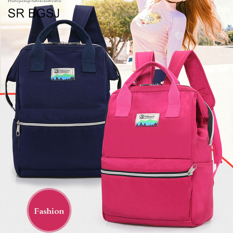 Detail Feedback Questions about Free Shipping Preppy Women Backpack  Waterproof Nylon Lady Female Casual Bag Mochila Feminina 5 Colors on  Aliexpress.com ... c4e23977fb680