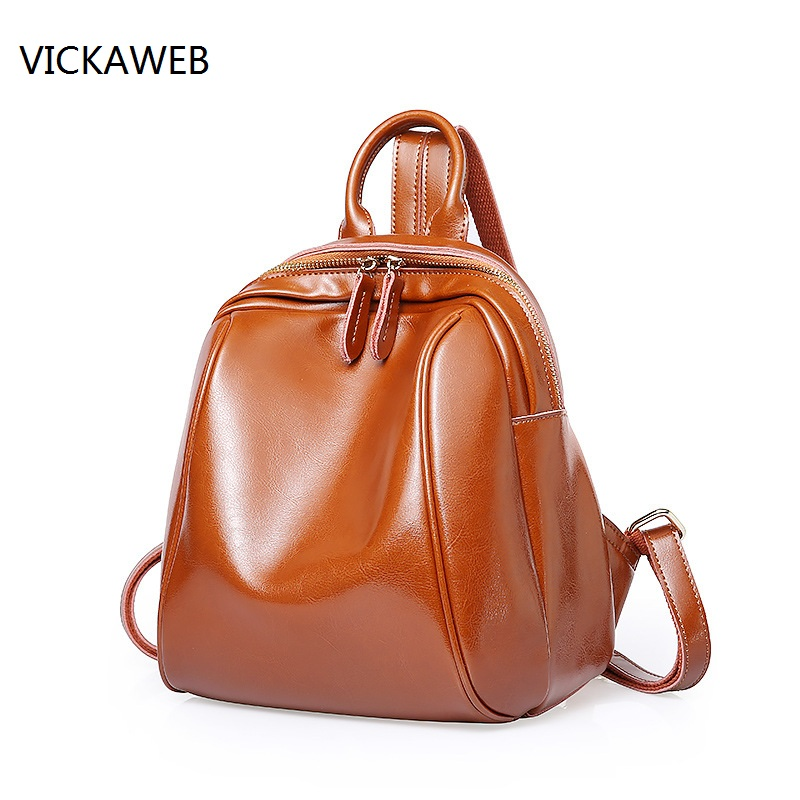 luxury brand backpack women leather ladies travel bags small school bags for girls genuine leather bagpack шина nokian nordman rs2 suv 235 65 r17 108r xl