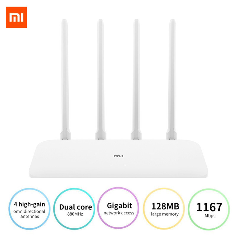 Xiaomi Wifi Repeater Antennas Network-Extender Gigabit-Version 5ghz High-Gain 1167mbps