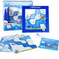 IQ Puzzle 48 défi avec Solution famille jeux de société enfants défi jouets pensée logique jeu Jouet Enfant Intelligent