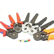 HSC8 6-4 MINI-TYPE SELF-ADJUSTABLE CRIMPING PLIER 0.25-6mm2 terminals crimping tools multi tool hands pliers LXC8 6-4