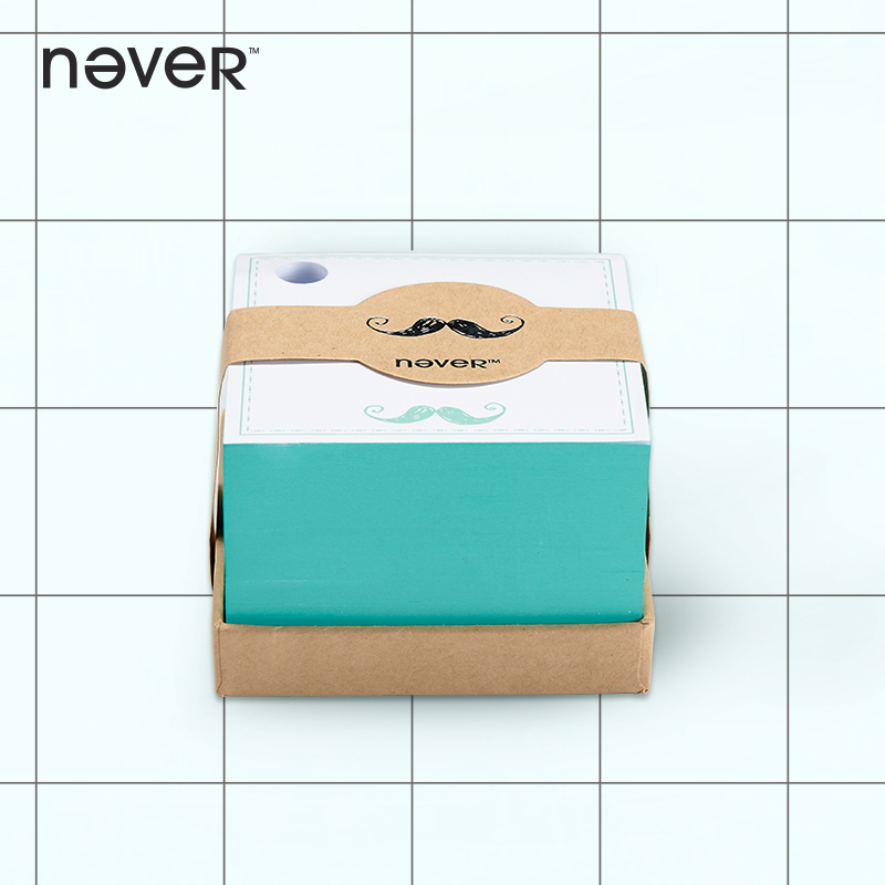 Mustache Fashion Cute Creative Kawai Scratchpad /note stickers /notes box School Supplies office stationery note paper,notepad 21cm 7cm rescue dogs make the best pets fashion text creative personality stickers car stickers c3 0136