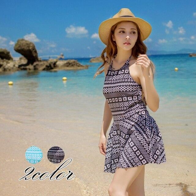 385d64ab72 Sexy Beach Cover Up Dress Swimwear Women Swimsuit Plaid One-Piece Beachwear  Skirt Bathing Suit Backless Bikini Sarong Beach Wrap