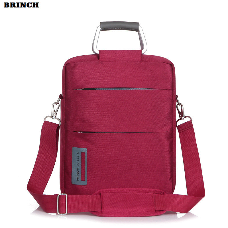 BRINCH 12 inch Laptop Bag Computer Sleeve Briefcase For Men Women Handbag For Macbook Air Lenovo Notebook PC Shoulder Bags