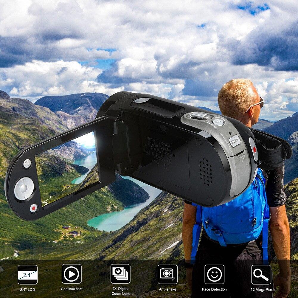 69e41c572d892e HIPERDEAL HD-D60 Video Camcorder HD 1080P Handheld Digital Camera 4X  Digital Zoom Automatic Digital DV Recorder Camera BAY16 - baooto Review