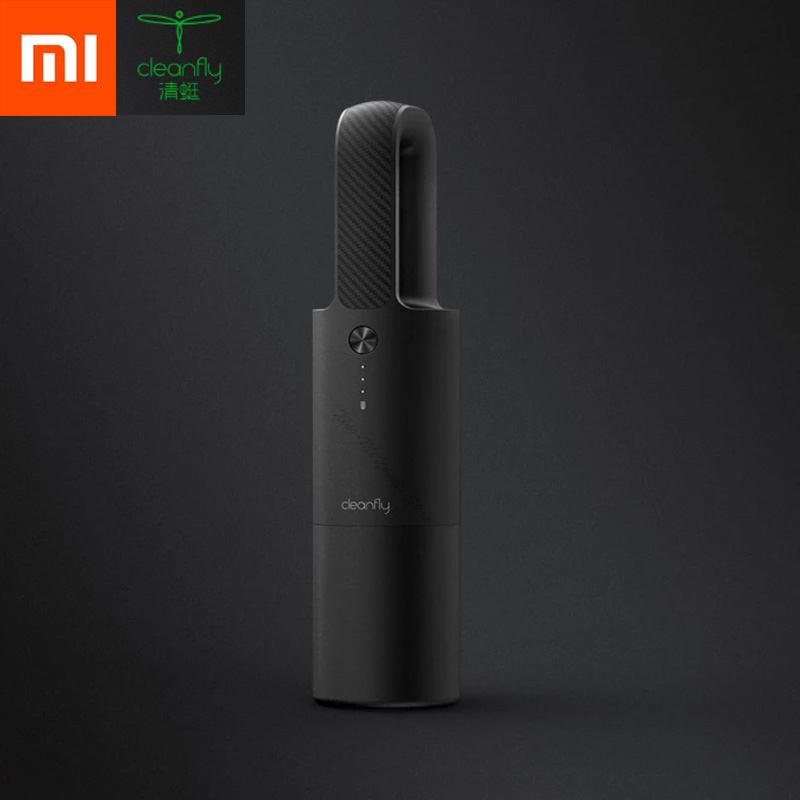 XIAOMI Mijia Cleanfly CoClean FVQ Portable Car/Home Wireless Hand-Helded Vaccum Dust Cleaner Huge Suction Fast Charge Mini